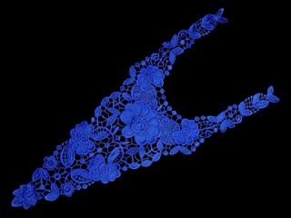刺繍・レース ロング モチーフ(C2338)