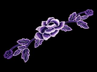 刺繍・レース シングル モチーフ(C2519)