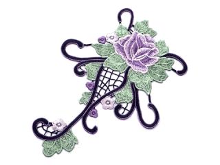 刺繍・レース シングル モチーフ(C2527)