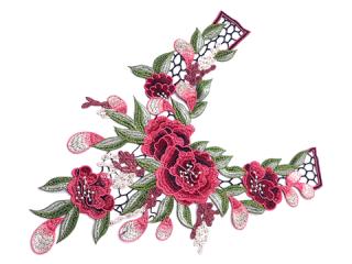 刺繍・レース ロング モチーフ(C2366)