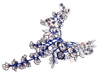 刺繍・レース ロング モチーフ(C2368)
