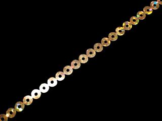 スパンコールテープ HOTFIX 4mm Gold HG(406)