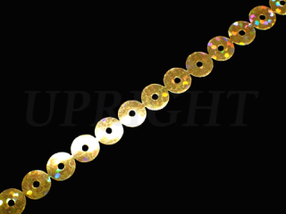 スパンコールテープ HOTFIX 7mm Gold HG(707)