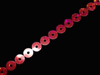 スパンコールテープ HOTFIX 7mm Red HG(715)