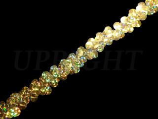 ストレッチ スパンコールブレード 1Row Gold HG(163)
