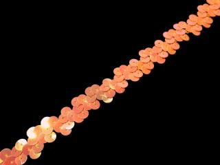 ストレッチ スパンコールブレード 1Row Orange AB(187)