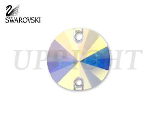 スワロフスキー ラインストーン 3200 リボリ オーロラ(AB)10mm