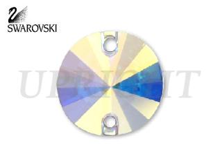 スワロフスキー ラインストーン 3200 リボリ オーロラ(AB)12mm