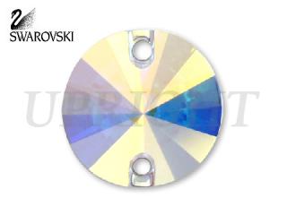 スワロフスキー ラインストーン 3200 リボリ オーロラ(AB)14mm
