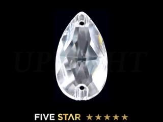 ラインストーン(ガラスストーン) 3230 ドロップ クリスタル(CR)18×10.5