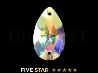 ラインストーン(ガラスストーン) 3230 ドロップ オーロラ(AB)18×10.5