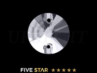 ラインストーン(ガラスストーン) 3200 リボリ クリスタル(CR)10mm