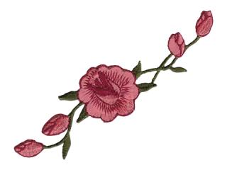 刺繍・レース シングル モチーフ(B1130)