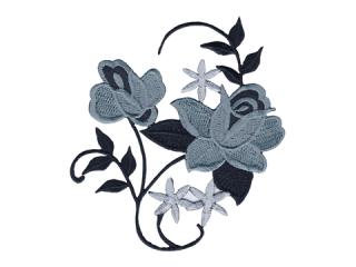 刺繍・レース シングル モチーフ(B1169)