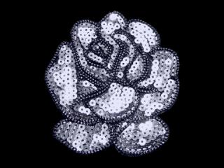 刺繍・レース シングル モチーフ(B8191)