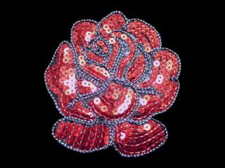 刺繍・レース シングル モチーフ(B8194)