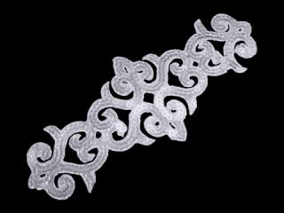 刺繍・レース シングル モチーフ(B8121)