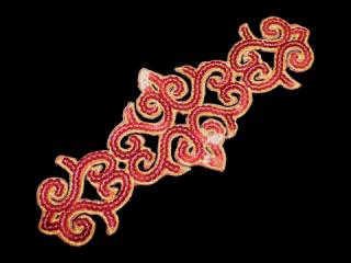 刺繍・レース シングル モチーフ(B8124)