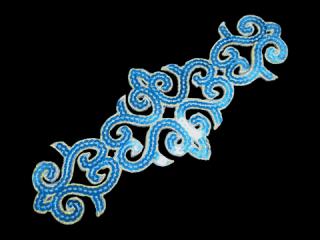 刺繍・レース シングル モチーフ(B8125)
