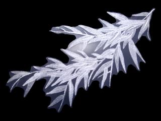 刺繍・レース シングル モチーフ(D3802)
