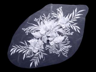 刺繍・レース シングル モチーフ(D3021)