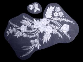 刺繍・レース コンビ モチーフ(D3061)