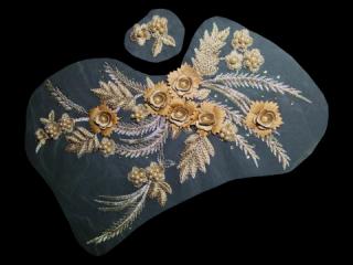刺繍・レース コンビ モチーフ(D3064)