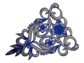 刺繍・レース シングル モチーフ(C2552)