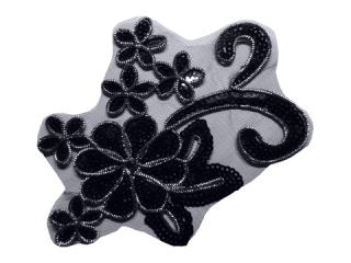 刺繍・レース シングル モチーフ(D3010)