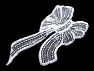 刺繍・レース シングル モチーフ(D3037)