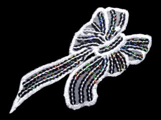 刺繍・レース シングル モチーフ(D3038)