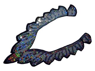 刺繍・レース ネックライン モチーフ(D3040)