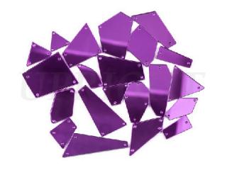 ミラーストーン 1セット(12個入) Purple 002
