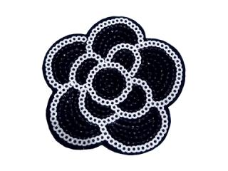 刺繍・レース シングル モチーフ(B8211)