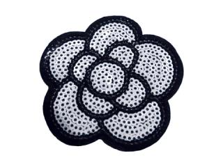 刺繍・レース シングル モチーフ(B8212)