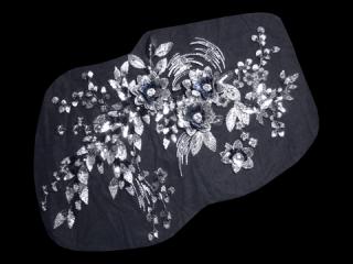 刺繍・レース シングル モチーフ(D3088)