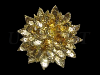 スパンコールモチーフ Gold MT(1122)