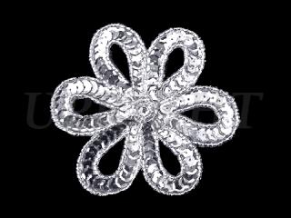 スパンコールモチーフ Silver MT(1151)