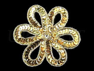 スパンコールモチーフ Gold MT(1152)