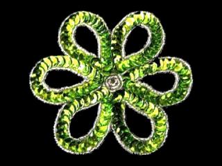 スパンコールモチーフ Lime MT(1158)