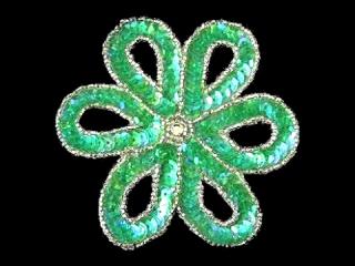 スパンコールモチーフ Clear Green(1162)