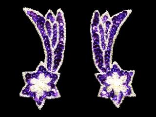 スパンコールモチーフ Violet MT(2415)