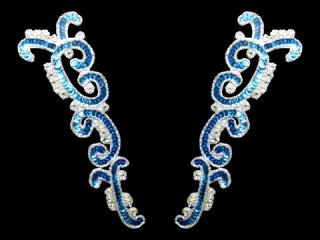 スパンコールモチーフ Turquoise MT(2146)