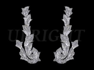 スパンコールモチーフ Silver HG(2161)