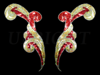 スパンコールモチーフ Multicolor(2172)