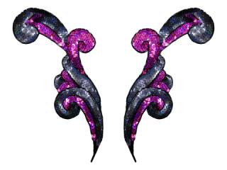 スパンコールモチーフ Multicolor(2173)