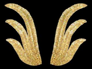 スパンコールモチーフ Gold HG(2182)