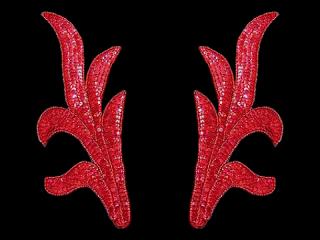 スパンコールモチーフ Red HG(2204)