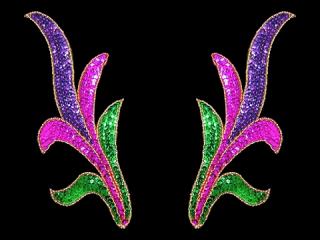 スパンコールモチーフ Multicolor(2230)