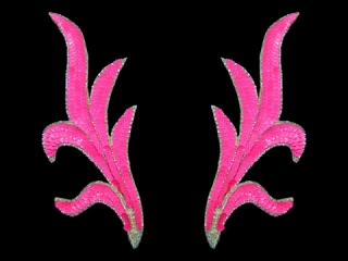 スパンコールモチーフ Neon Pink(2235)
